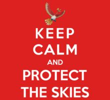 Keep Calm And Protect The Skies Kids Clothes