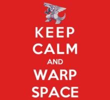 Keep Calm And Warp Space Kids Clothes