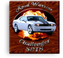 Dodge Challenger SRT8 Road Warrior Canvas Print