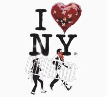 BANKSY + 2piu2design I love NY by 2piu2design