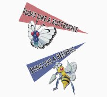 Float like a Butterfree and Sting like a Beedrill by ydt89