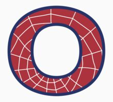 O letter in Spider-Man style by florintenica