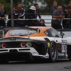 British GT 2013 Donington - #16 Rob Smith / Mike Simpson - LNT G55 Ginetta GT3 - Melbourne Hairpin by motapics