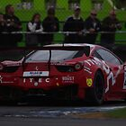 British GT 2013 Donington - #26 ITEC Ferrari 458 Italia GT3 - Melbourne Hairpin by motapics