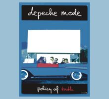"Depeche Mode ""Policy Of Truth"" Violator Car Shirt by Shaina Karasik"