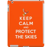 Keep Calm And Protect The Skies iPad Case/Skin