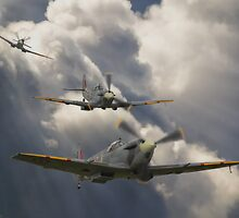 Attack out of The Sun by Nigel Bangert