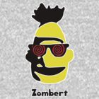 Zombie Bert  With Text (Sesame Street) by Isaac Simmons