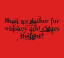 Whiskey and Cigars Dishonoured (Black) by CaelisMiran