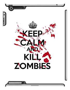 Keep Calm And Kill Zombies by Leylaaslan