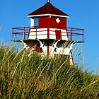 Covehead Harbour Lighthouse II by Kathleen M. Daley