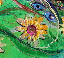 Original painting fragment 67 by Elena Kotliarker