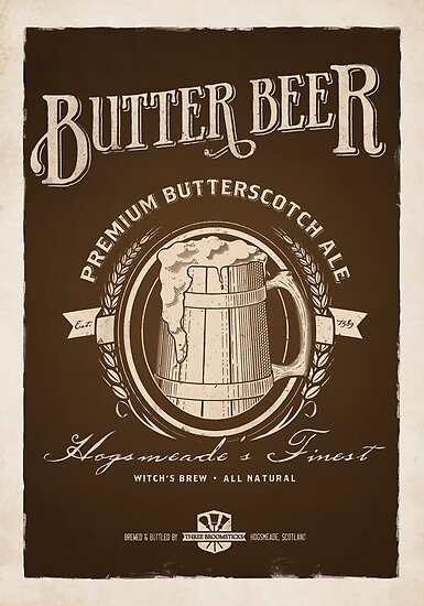 Butterbeer Vintage by mechantefille