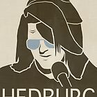 Mitch Hedburg Vinage Poster by FinlayMcNevin