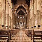 St. Patricks Cathedral, Melbourne by Alex Ford