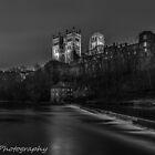 Durham Cathedral mono by neil sturgeon