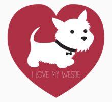 I Love My Westie by BonniePortraits