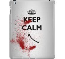 KEEP CALM DEATH iPad Case/Skin
