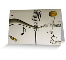 SOLD - SING ME AN OLD FASHIONED SONG! Greeting Card