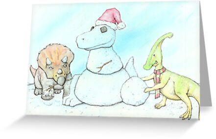 Snowasaurus Rex by Bart Castle