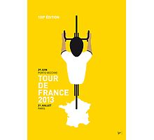 My Tour de France Minimal poster 2013 Photographic Print