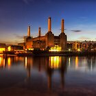 Battersea Twilight by Ian Hufton