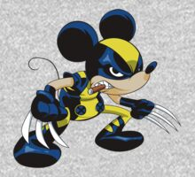 Mickey Wolverine by McDraw