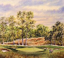 Merion Golf Course by bill holkham