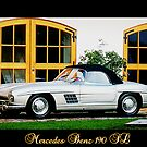 Mercedes Benz 190 SL by ©The Creative  Minds