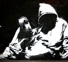 Hood - Banksy by Paula Bielnicka