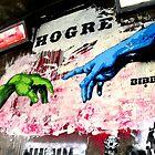 Hogre - Banksy by Paula Bielnicka
