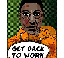 (Print) GET BACK TO WORK by Pichins Creations