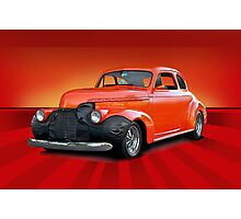 1941 Cheverolet Business Coupe Photographic Print