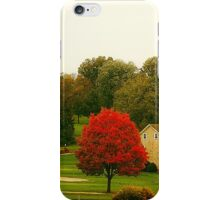 The Red Tree iPhone Case/Skin