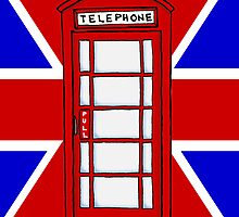 Telephone Booth by bryandraws