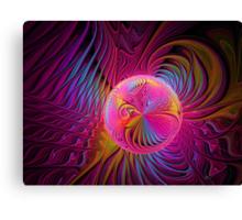 Raspberry Embrace Canvas Print