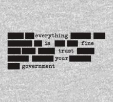 Everything Is Fine Trust Your Government by tinaodarby