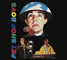 Pet Shop Boys Shirt by Shaina Karasik
