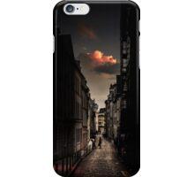Red cloud in Paris (France) iPhone Case/Skin