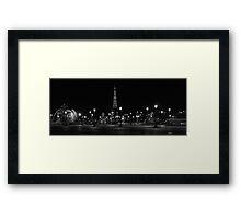 The Eiffel Tower in Paris (France) Framed Print