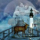 Moonlight crossing by Suzanne  Carter