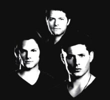 Supernatural, three in black by Damn-Murphy