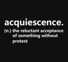 Dictionary Collection - Acquiescence by Meg(n) Jacqueline