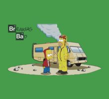 Breaking Bad / The Simpsons by Silros