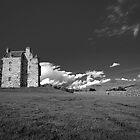 Forter Castle Mono by dgscotland