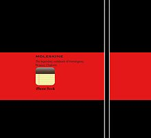 Moleskine App Red by Balugix