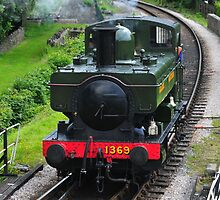 Approaching Buckfastleigh Station by JurassicJohn