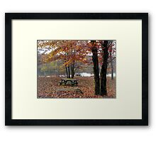 When All Is Quiet Framed Print