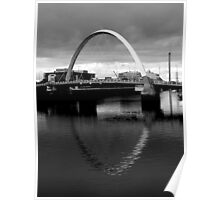 reflection arch Poster