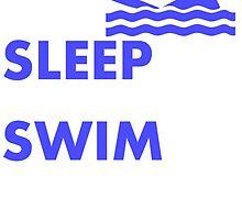 Eat Sleep Swim by kwg2200